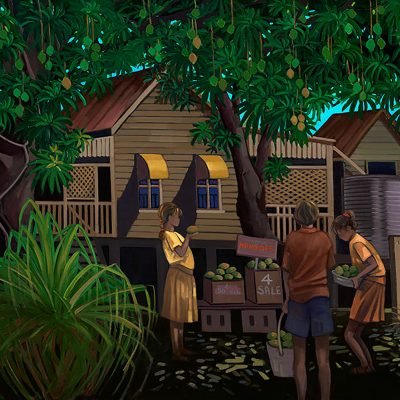 Mangoes 4 Sale by tania heben