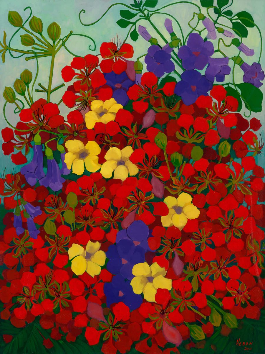Tania Heben Australian landscape artist port douglas