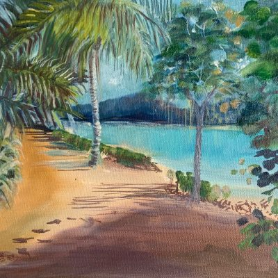 Tropical Oil Painting